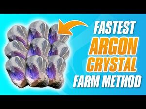 Warframe Argon Crystal Farming Guide 2021