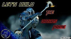 Warframe Let's Build Orthos Prime (Melee 2