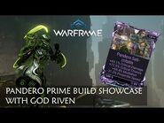 Pandero Prime Build with God Riven -Warframe