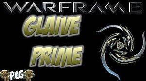 Warframe 11 ♠ Glaive Prime