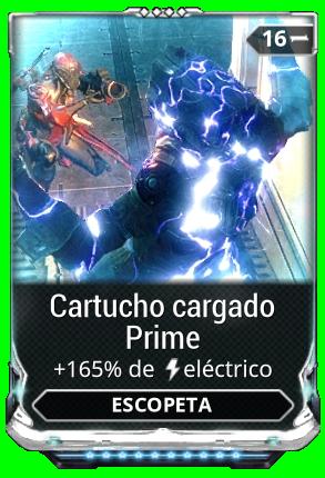 Cartucho cargado Prime