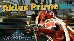 AKLEX PRIME - Real Stopping Power 6 forma - Warframe