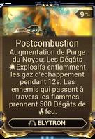 Postcombustion