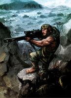 Chaos Marine's Hunter