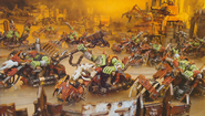 Орки-мотоциклисты (миниатюра)