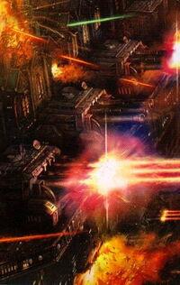 Flota lanzas navales abriendo fuego.jpg