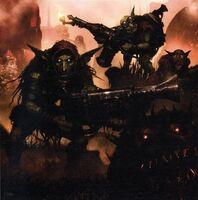 Ork Flamethrower Gretchin