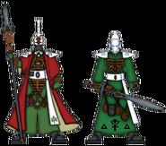 Ясновидец и колдун Биель-Тана (цветовая схема)