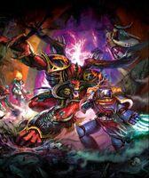 Daemon Prince vs Ultramarine Sergeant