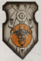 Flaming Skulls Warlord Livery Shield