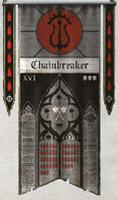 Dark Tide Warlord Princeps Honour Banner