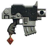 Godwyn-Ultima Bolt Pistol Space Wolves