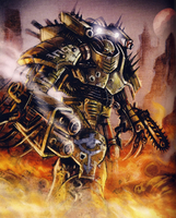 Sons of Horus Heresy Dhekarst Dreadnought