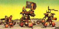 Flaming Skulls Titans