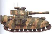 Lucius Baneblade of Tekarn 11th Heavy Tank Company