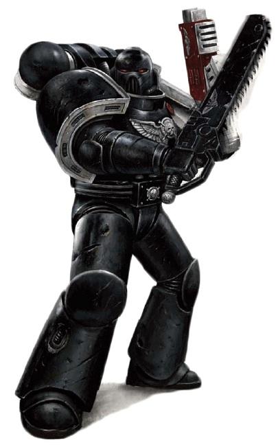 Deathwatch Black Shield