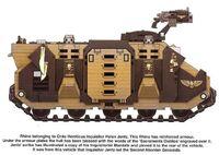 Rhino of Inquisitor Jentz