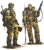Кадианский гвардеец и Штурмовик