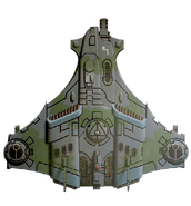 Истребитель «Барракуда», прикреплённый к охотничьему кадру Эль'Корри