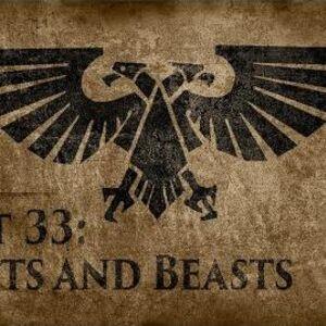 Warhammer 40,000 Grim Dark Lore Part 33 – Saints and Beasts