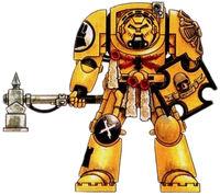 Imperial Fists Vet Terminator Armor
