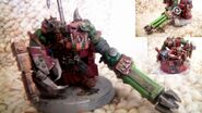 255712 md-Big Mek, Gauss, Gauss Cannon, Headquarters, Mekboy, Orks, Power, Power Klaw