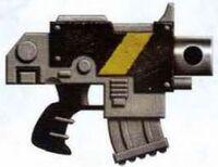 Ultima Bolt Pistol Mantis Warriors