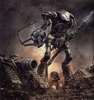 Knight Lancer Aerthegn battle