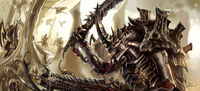 Tyranid hive brood by LordHannu