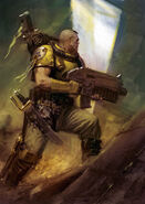 Imperial Fist Scout