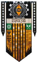 Legio Fureans Warlord Princeps Banner