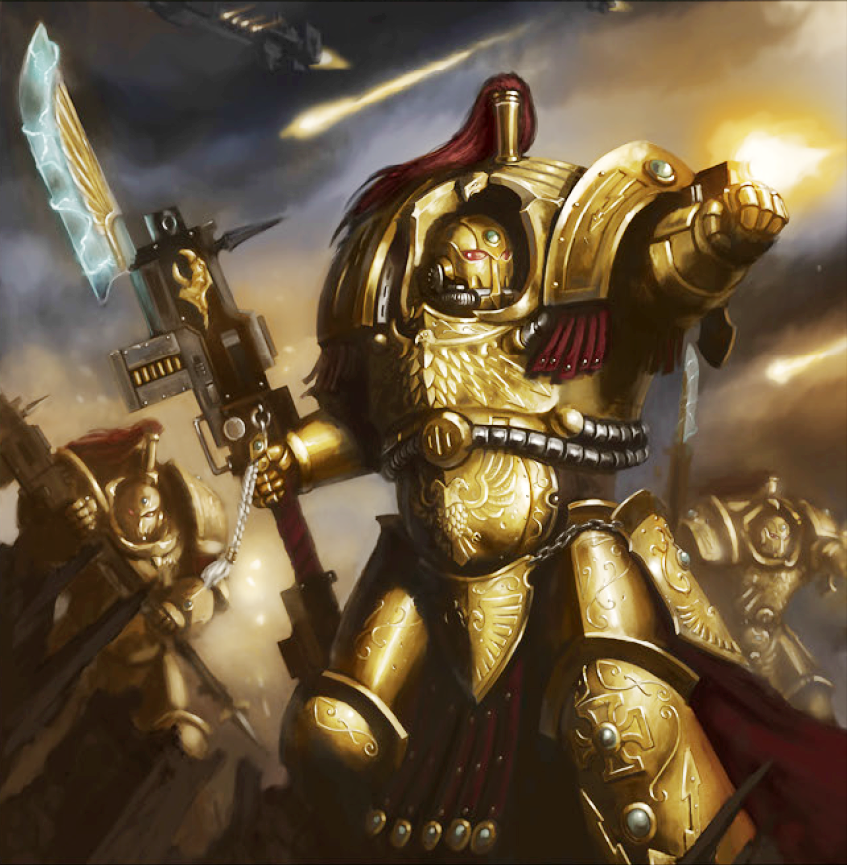 Allarus Pattern Terminator Armour