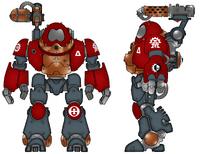 Stygies VIII Kastelan Robot