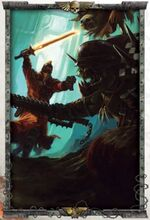 Arm Steel Leg. vs. Ork