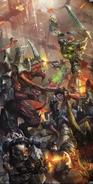 Storm Wardens vs. Tyranids