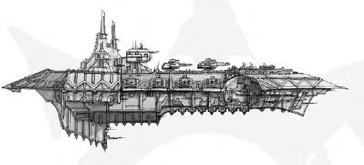 Acheron-class Heavy Cruiser