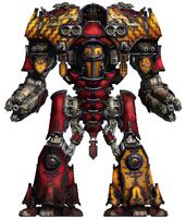 Legio Ignatum Warmaster Titan Vindicta Mandibus