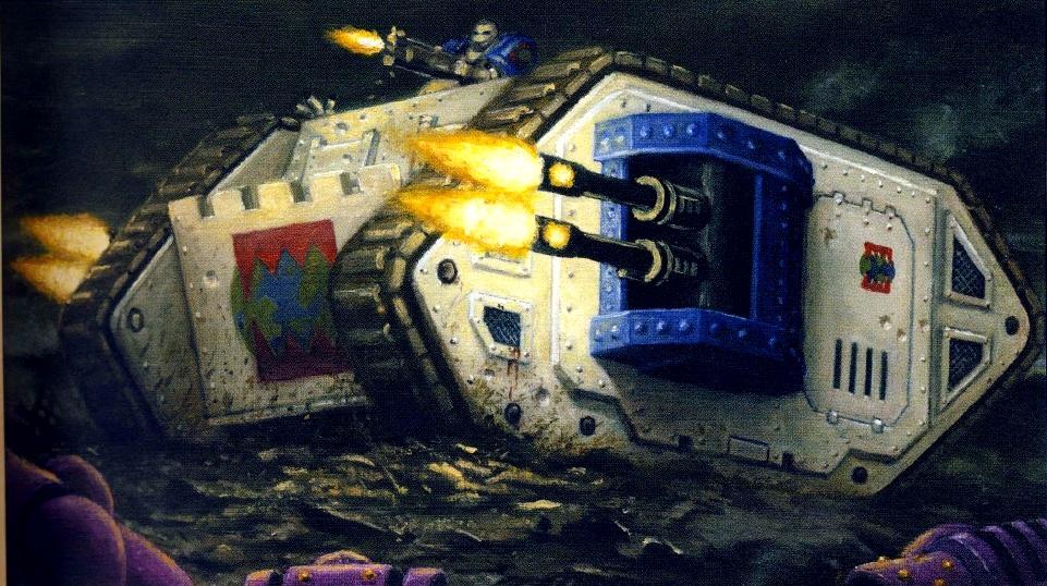 Mark IIb Land Raider Phobos