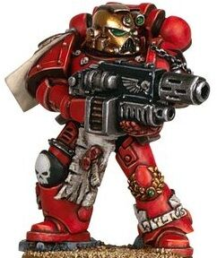 Warhammer 40K Space Marines Sternguard Squad Storm Bolter A