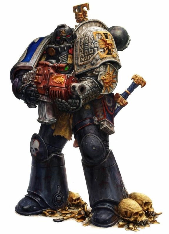 Deathwatch Tactical Marine