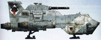 Thunderhawk Gunship Red Fury of Russ