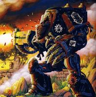 Iron Hands Heresy Comech Dreadnought