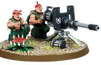 Catachan Autocannon Team