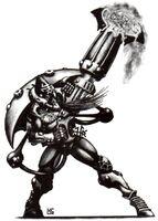 Warp Spider Warrior