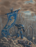 Космодесантник-знаменосец