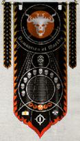 Flaming Skulls Princeps Banner 2