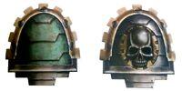 Blackshield Techmarine Armourial Icons