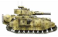 Baneblade of Tallarn 409th Heavy Tank Regiment