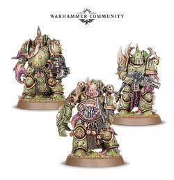 Warhammer 40k Dark Empire-Death guard-Chaos//Nurgle-Plague Marine #4