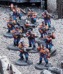 Mordian Infantry Squad